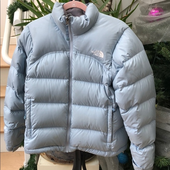 5bf7f1d15b9 The North Face Jackets & Coats | North Face Light Blue 700 Count Sp ...